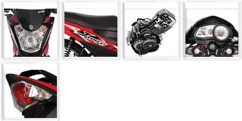 Suzuki Raider J 115FI Features